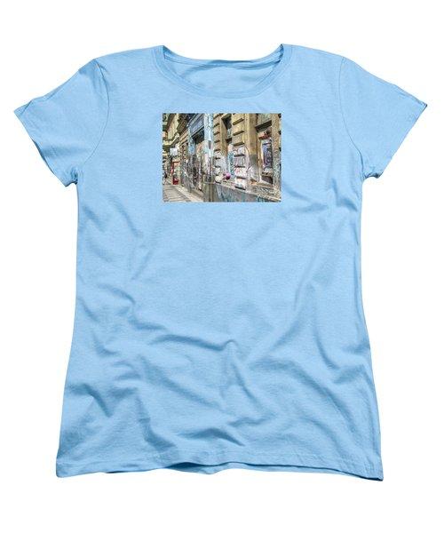 Praha Street Women's T-Shirt (Standard Cut) by Yury Bashkin