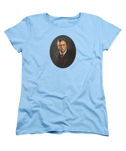 President Theodore Roosevelt  Women's T-Shirt (Standard Cut)