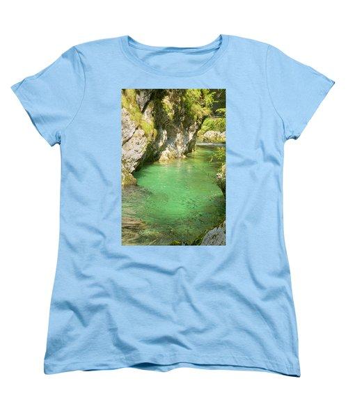 The Vintgar Gorge Women's T-Shirt (Standard Cut)