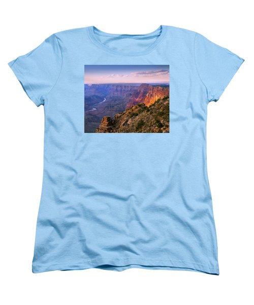 Canyon Glow Women's T-Shirt (Standard Cut) by Mikes Nature