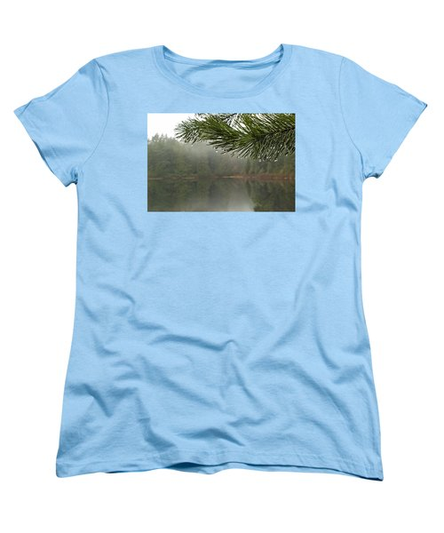 After The Rain Women's T-Shirt (Standard Cut) by Inge Riis McDonald