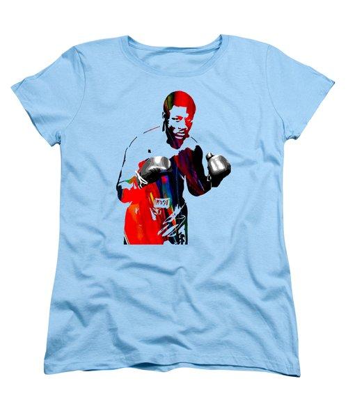 Smokin Joe Frazier Collection Women's T-Shirt (Standard Cut) by Marvin Blaine
