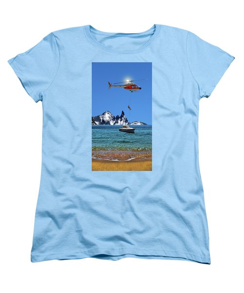 Women's T-Shirt (Standard Cut) featuring the photograph 4372 by Peter Holme III
