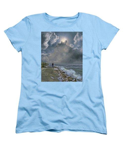 Women's T-Shirt (Standard Cut) featuring the photograph 4405 by Peter Holme III
