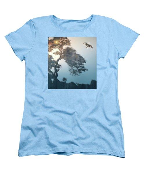 Women's T-Shirt (Standard Cut) featuring the photograph 4408 by Peter Holme III