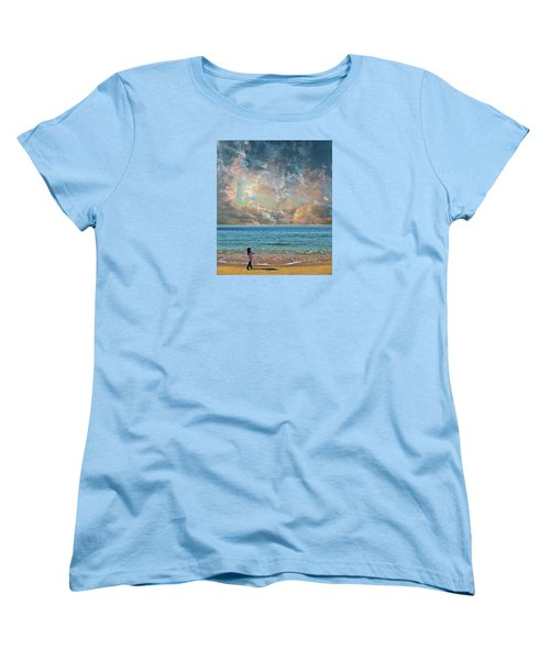 Women's T-Shirt (Standard Cut) featuring the photograph 4410 by Peter Holme III