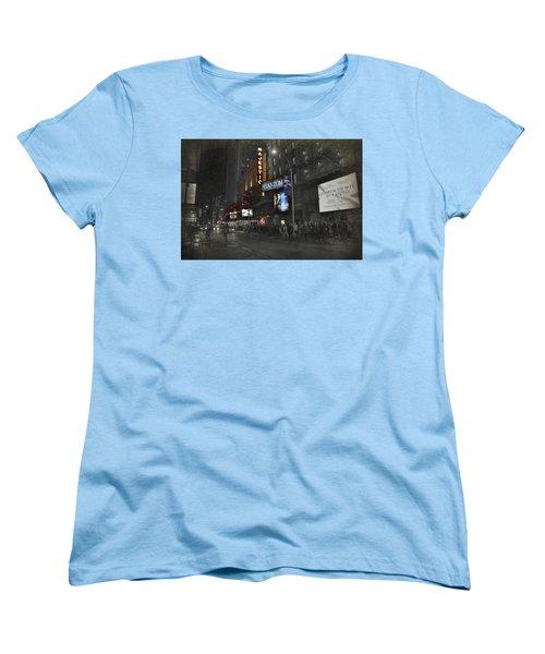 44th Street Nyc Women's T-Shirt (Standard Cut) by Dyle Warren