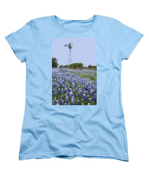 47 Women's T-Shirt (Standard Cut) by Susan Rovira