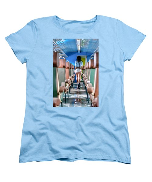 Take A Litte Trip Women's T-Shirt (Standard Cut) by Traven Milovich
