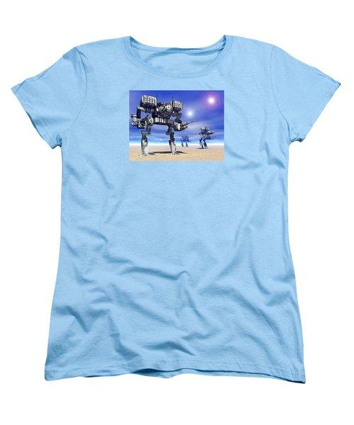 501st Mech Trinary Women's T-Shirt (Standard Cut) by Curtiss Shaffer