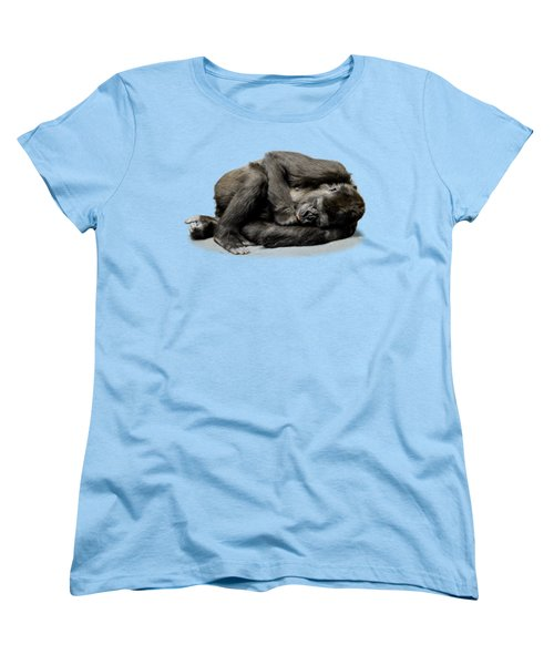 Gorilla Women's T-Shirt (Standard Cut) by FL collection