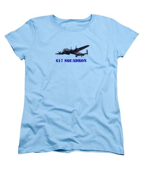 617 Squadron Women's T-Shirt (Standard Cut) by Scott Carruthers