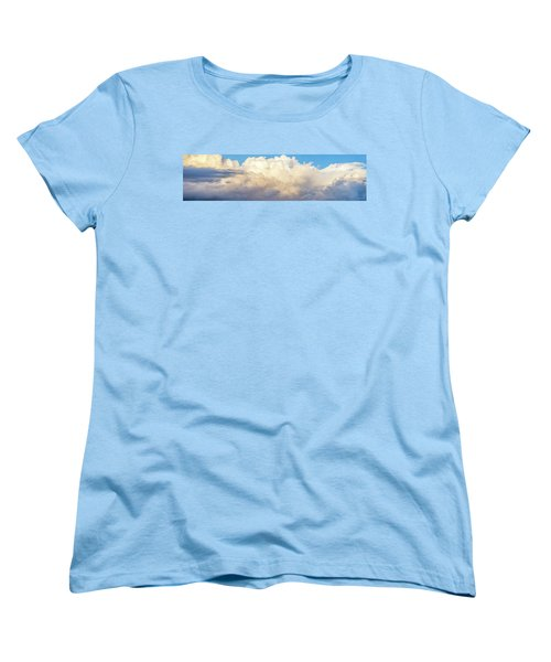 Women's T-Shirt (Standard Cut) featuring the photograph Clouds by Les Cunliffe