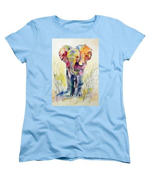 Elephant Women's T-Shirt (Standard Cut)