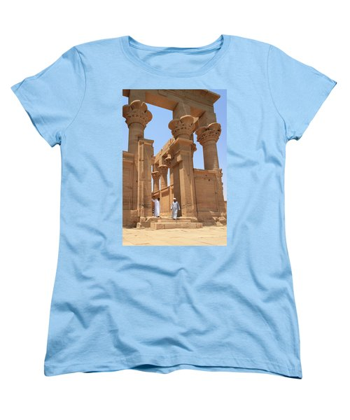 Temple Of Isis Women's T-Shirt (Standard Cut) by Silvia Bruno