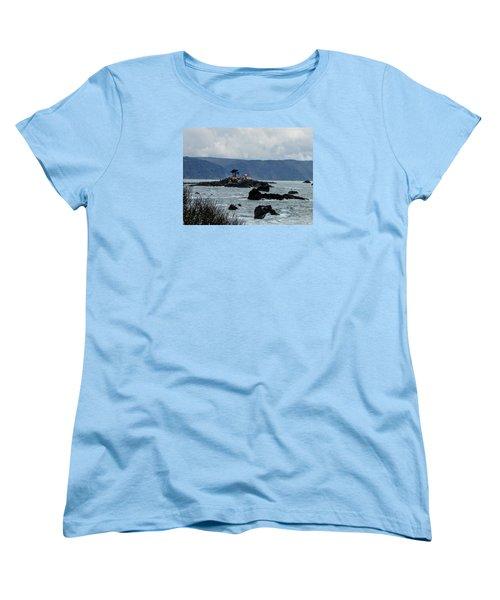 Winter White Women's T-Shirt (Standard Cut) by Marilyn Diaz