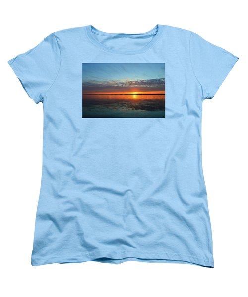 8.57 Pm June 8-2017  Women's T-Shirt (Standard Cut) by Lyle Crump