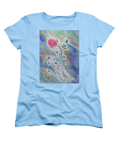 A Bit Of Whimsy Women's T-Shirt (Standard Cut) by Carol Crisafi