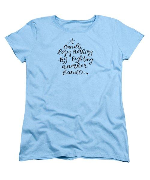 A Candle Women's T-Shirt (Standard Cut)