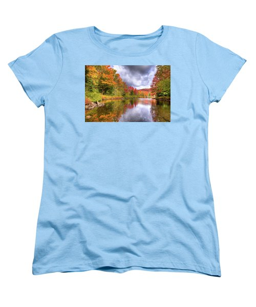 A Cloudy Autumn Day Women's T-Shirt (Standard Cut) by David Patterson