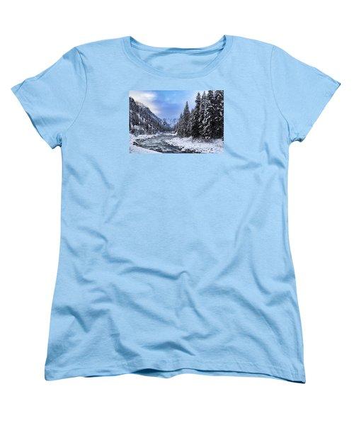A Cold Winter Day  Women's T-Shirt (Standard Cut)