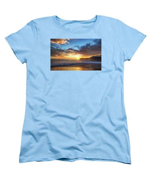 A Crystal Sunset Women's T-Shirt (Standard Cut) by Joseph S Giacalone