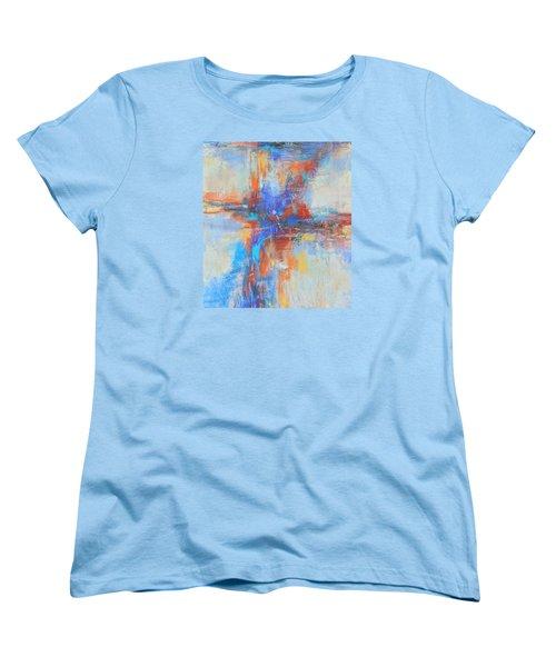 A Deep Breath Women's T-Shirt (Standard Cut) by Becky Chappell