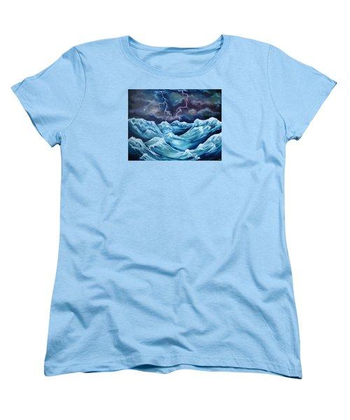A Fierce Beauty Women's T-Shirt (Standard Cut) by Cheryl Pettigrew