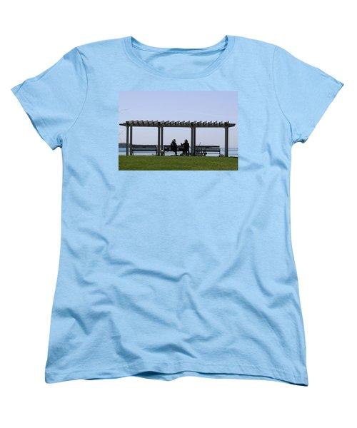 Women's T-Shirt (Standard Cut) featuring the photograph A Lazy Day by Paul SEQUENCE Ferguson             sequence dot net
