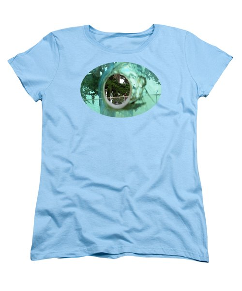 Women's T-Shirt (Standard Cut) featuring the photograph A Limited Point Of View by Ethna Gillespie
