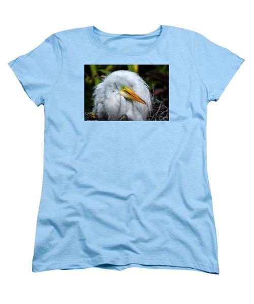 A Little Bit Of Fluff Women's T-Shirt (Standard Cut) by Cyndy Doty