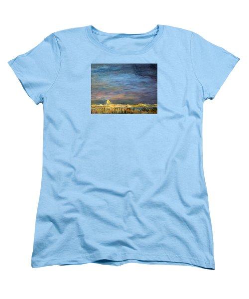A Little Moon Magic Women's T-Shirt (Standard Cut) by Michael Helfen