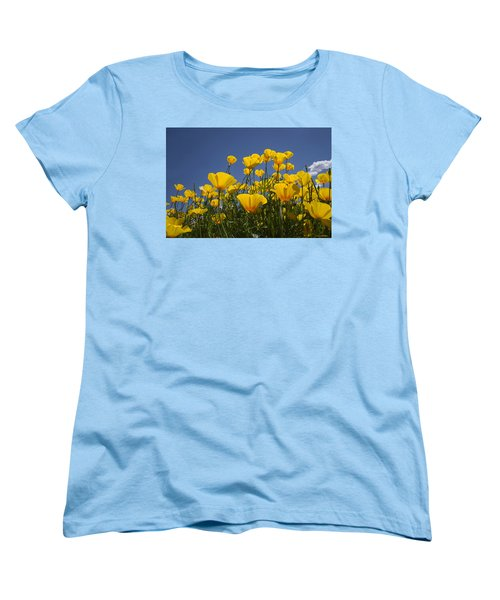A Little Sunshine  Women's T-Shirt (Standard Cut) by Lucinda Walter