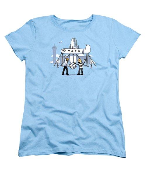 A Matter Of Perspective Women's T-Shirt (Standard Cut) by Ben Hartnett
