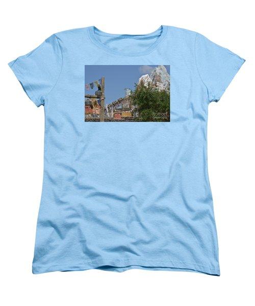 Women's T-Shirt (Standard Cut) featuring the photograph A Mountain Of Fun by Carol  Bradley