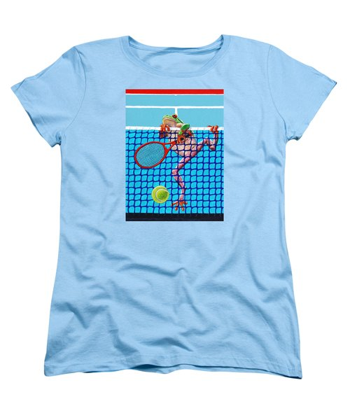 A Net Violation Women's T-Shirt (Standard Cut) by John Lautermilch