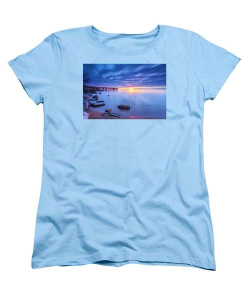 Women's T-Shirt (Standard Cut) featuring the photograph A New Dawn by Edward Kreis