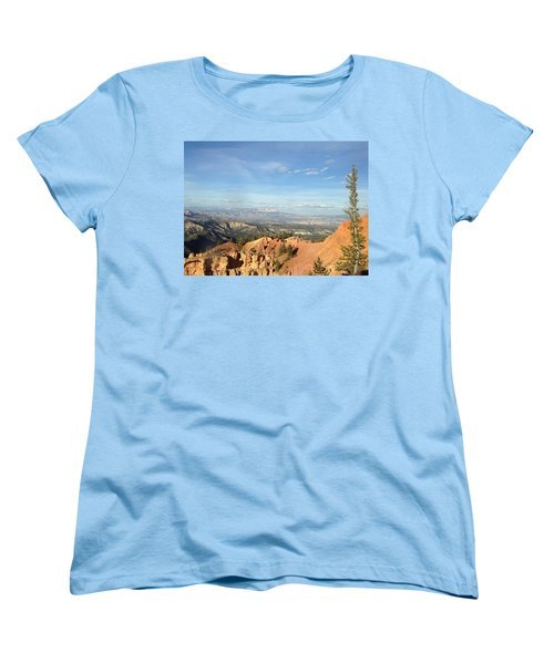A Perfect Spot At Bryce Canyon Women's T-Shirt (Standard Cut)