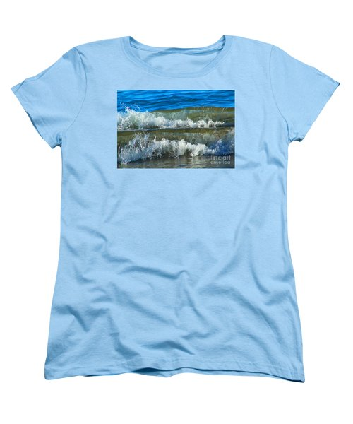A Race For Non-existence, Point Reyes National Seashore, Marin C Women's T-Shirt (Standard Cut) by Wernher Krutein