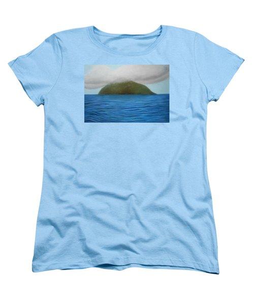 Hope- The Island  Women's T-Shirt (Standard Cut) by Vishvesh Tadsare