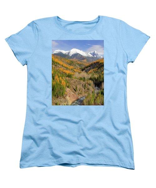 A River Runs Through It Women's T-Shirt (Standard Cut) by Jack Bell