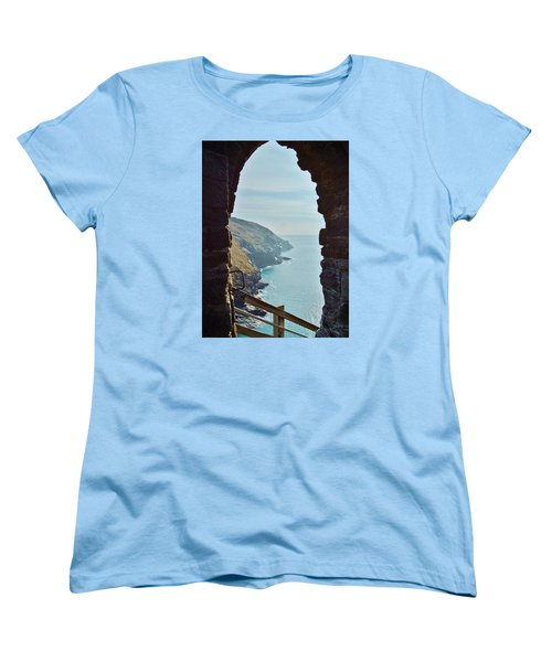 A Room With A View Women's T-Shirt (Standard Cut) by Richard Brookes