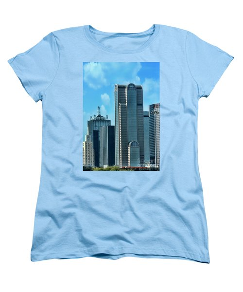 A Slice Of Dallas Women's T-Shirt (Standard Cut) by Joan Bertucci