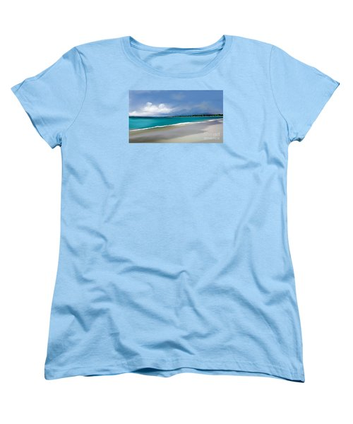 Women's T-Shirt (Standard Cut) featuring the digital art A Summer Day by Anthony Fishburne