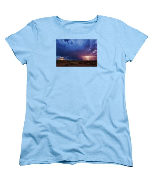 A Tale Of Two Nights Women's T-Shirt (Standard Cut) by Rick Furmanek