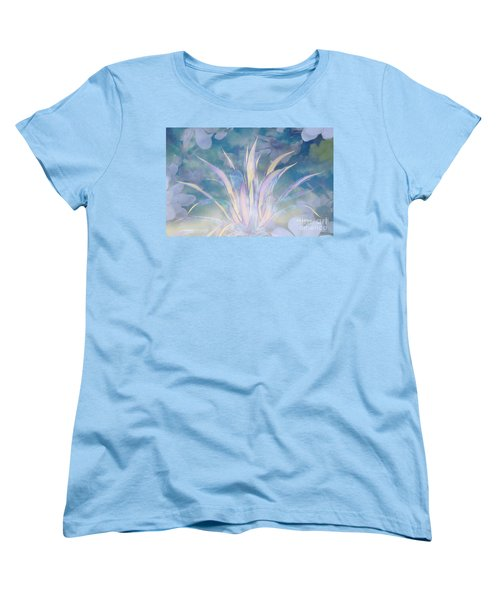A Touch Of Spring Women's T-Shirt (Standard Cut) by Sherri's Of Palm Springs