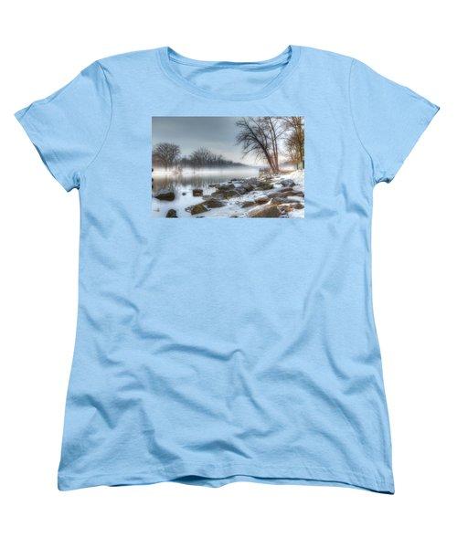 A Tranquil Evening Women's T-Shirt (Standard Cut) by Everet Regal