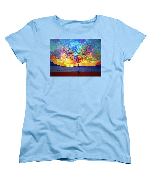Women's T-Shirt (Standard Cut) featuring the digital art A Tree For A New Season by Tara Turner