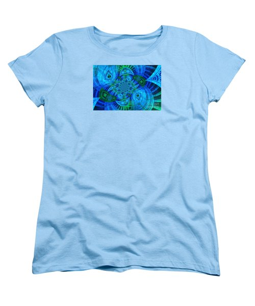 Women's T-Shirt (Standard Cut) featuring the photograph A Walk In The Gallery by Chad and Stacey Hall