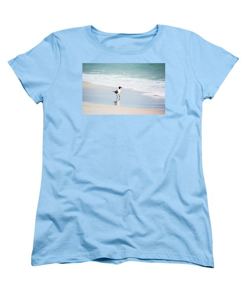 A Walk On The Beach Women's T-Shirt (Standard Cut) by Shelby  Young